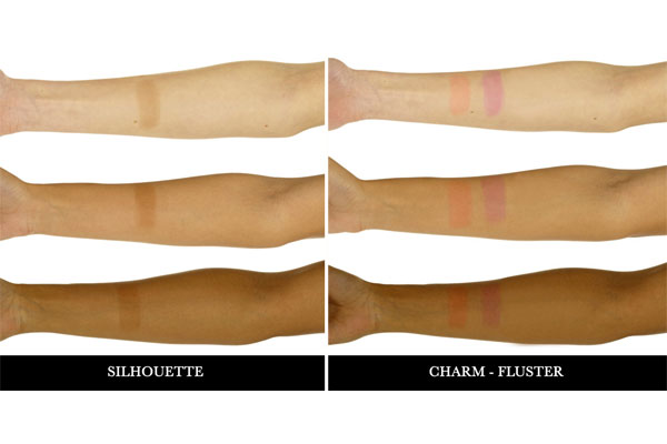 illamasqua gel color blusher swatch
