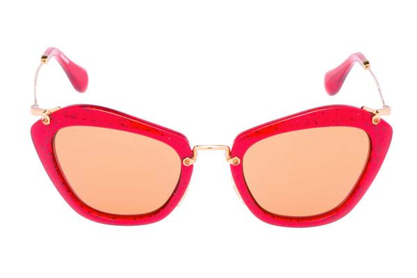 MiuMiu occhiale da sole forma di gatto