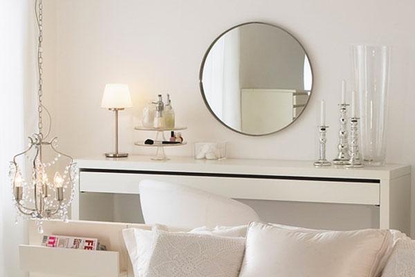 Specchi postazione trucco luci vanity table