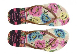 Havaianas tropical flip flop