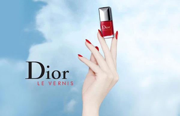 advertising dior vernis