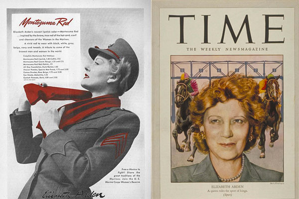 Elizabeth Arden vintage advertising