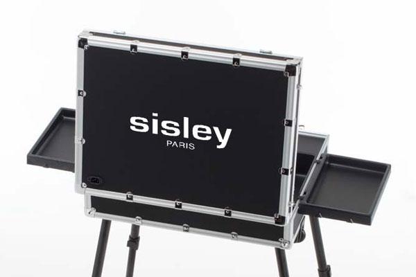Postazione trucco Cantoni per Sisley Paris