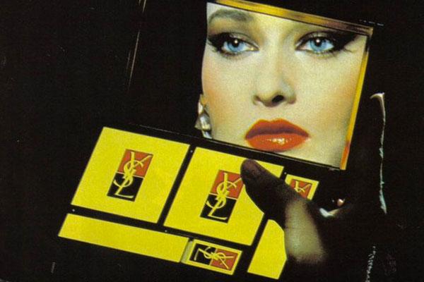 Yves Saint Laurent vintage pubblicità