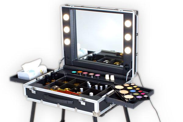 Make up artist e nail artist postazioni e strumenti professionali per trucco e unghie anna - Specchio make up ...