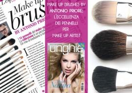 Make Up Brushes by Antonio Priore: anteprima e foto dei nuovi pennelli trucco