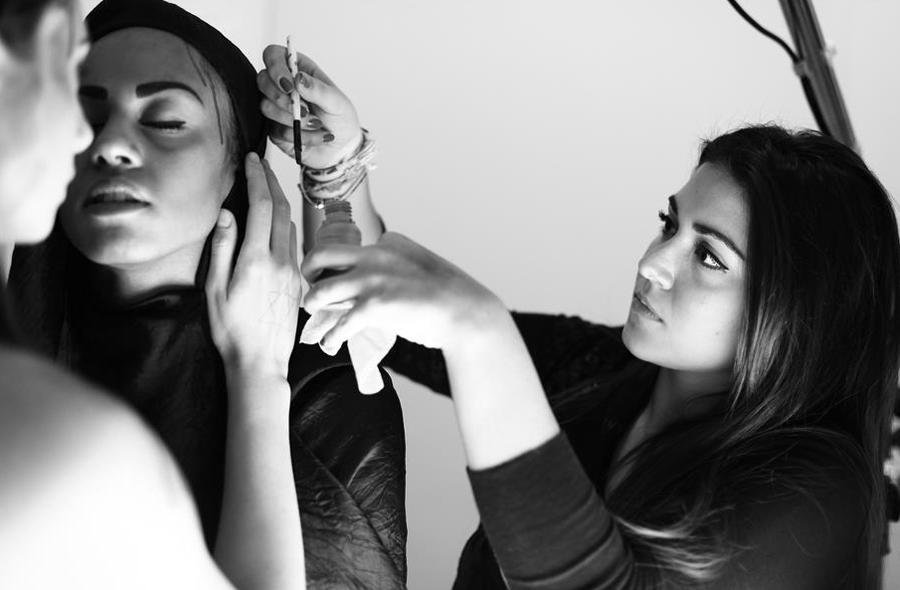anna marchese come diventare make up artist moda backstage truccatore napoli caserta aversa frattamaggiore