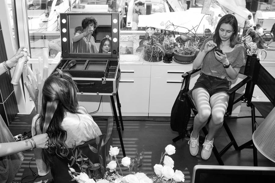 make up artist truccatori psicologi emozione e stress professionisti estetica backstage sfilata
