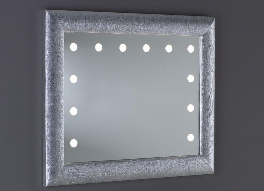 Specchio con le luci illuminato da parete retroilluminato unica by cantoni