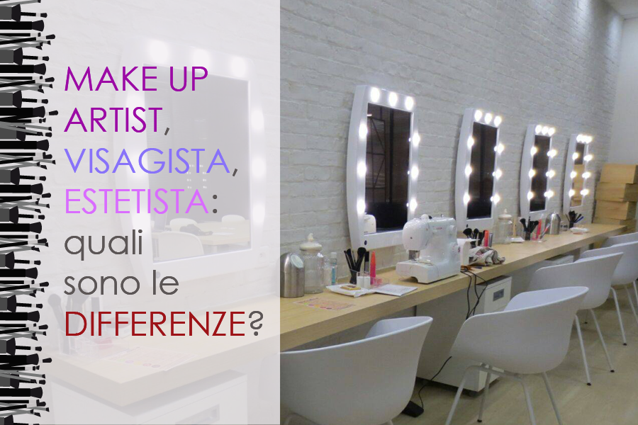 differenze truccatore visagista estetista make up artist