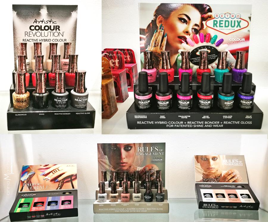 aestetica 2016 novità unghie trucco beauty skincare - RVM beauty -Artistic Nail color