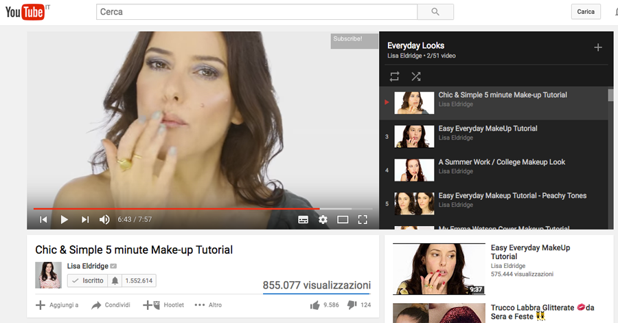 differenze trucco, make up backstage e video tutorial su youtube cantoni make up stations anna marchese
