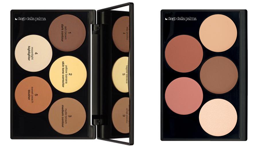 regali natale makeup artist 2016 contouring palette e highlight e blush diego dalla palma