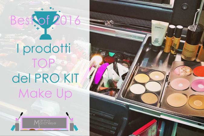 Best of 2016: i prodotti top del pro kit make up