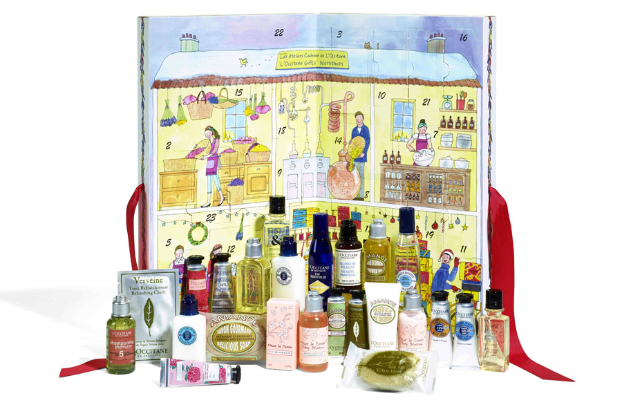 calendario dell'avvento l'occitane 2016 - regali natale per beauty lovers make up addict