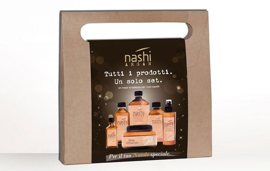 cofanetti natale limited edition nashy argan - regali natale per beauty lovers make up addict