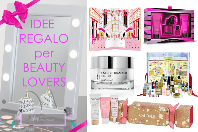 Idee regalo per beauty lovers: specchi trucco, make up e skin care