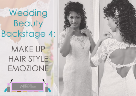 Wedding Beauty Backstage: trucco sposa e ciglia finte