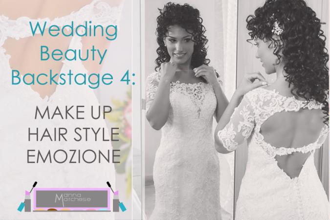 Wedding Beauty Backstage: trucco sposa e ciglia finte