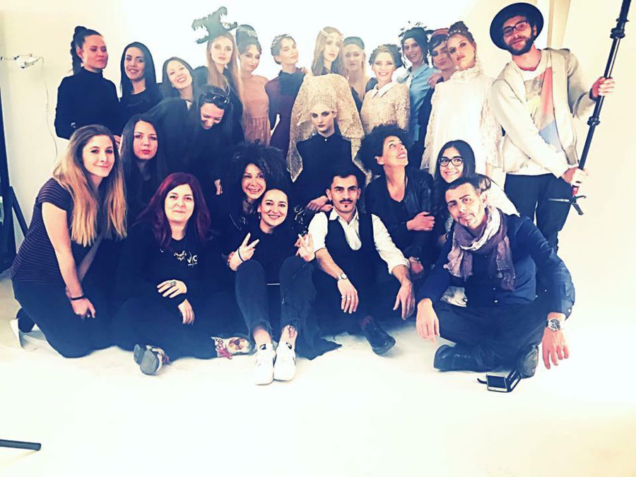 fashion editorial workshop valeria orlando vor makeup