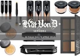 Kat Von D da Sephora Italia: i must have viso da non perdere
