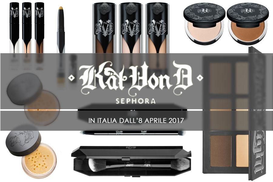 Kat Von D da Sephora Italia: i must have viso da non perdere ...