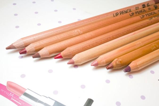 Review, foto e swatch Vor make up pencil: matite labbra, occhi e sopracciglia 2in1