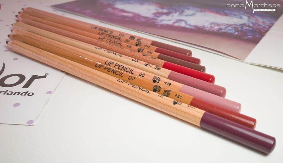 matite labbra vor make up by valeria orlando - recensione, foto e swatch