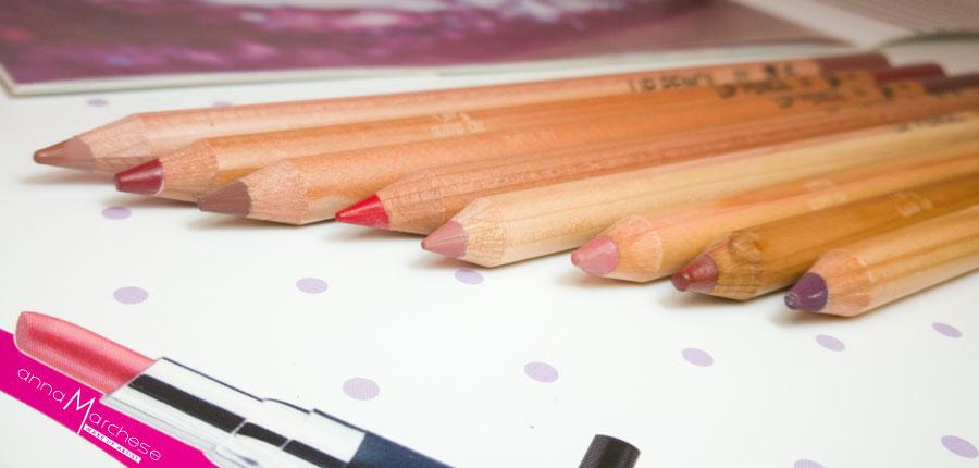 matite labbra rossetto vor make up by valeria orlando - recensione, foto e swatch