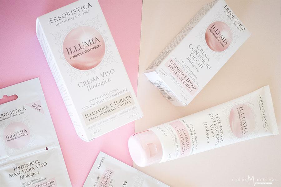 athenas-collezione-illumia-review-detergente-viso-contorno-occhi-bb-cream-maschera-viso-crema-illuminante-maschera-viso-detergente-0