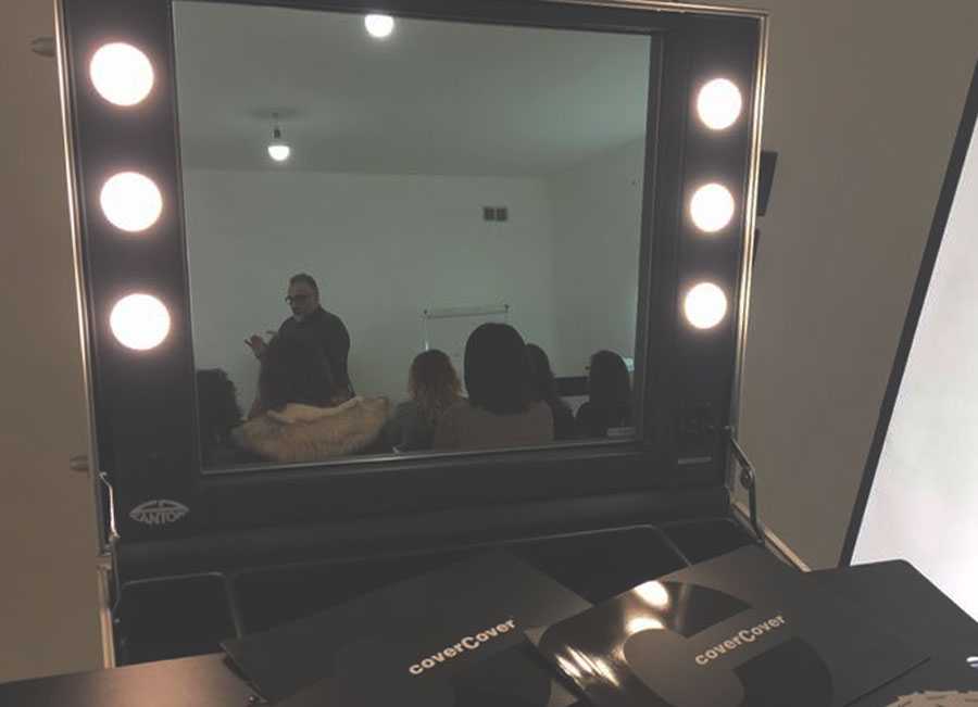 Itinerant Academy by Antonio Priore - Cover Cover + Cantoni Make Up Station