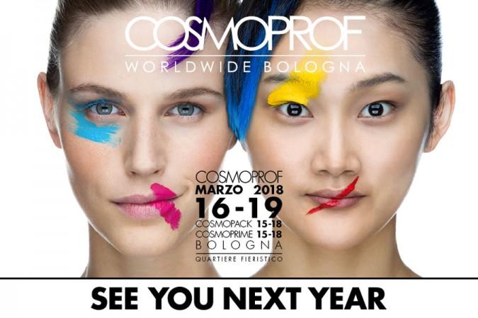 Cosmoprof 2018, 16 – 18 Marzo: 51esima edizione della fiera di Bologna