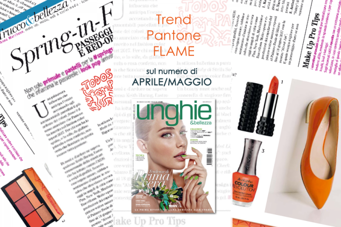 Spring in flame: il trend red-orange tra outfit e beauty case