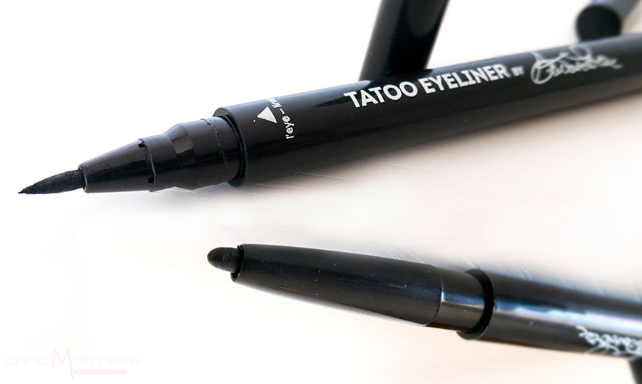 Tattoo Eyeliner in penna Glow Pin Up Collection by Antonio Priore punta sottile matita retraibile