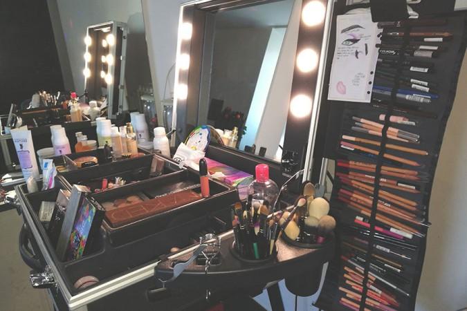 Il mio make up corner: postazione trucco, accessori e organizzazione