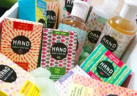 Il buongiorno biologico di Hand il saponino: creme, detergenti e saponette