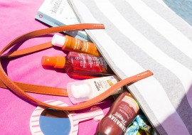 What's in my beach bag? Abbronzanti e protezioni solari per l'estate