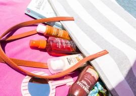 What's in my beach bag? Abbronzanti e protezioni solari per l'estate