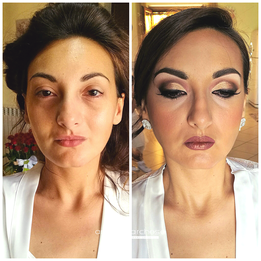 trucco-sposa-napoli-caserta-aversa-provincia-frattamaggiore-wedding-make-up-naples-bridal-makeupartist-prima e dopo