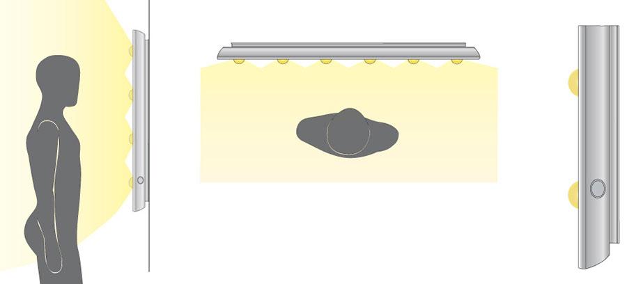 rifrazione della luce nella tecnologia i-light Cantoni