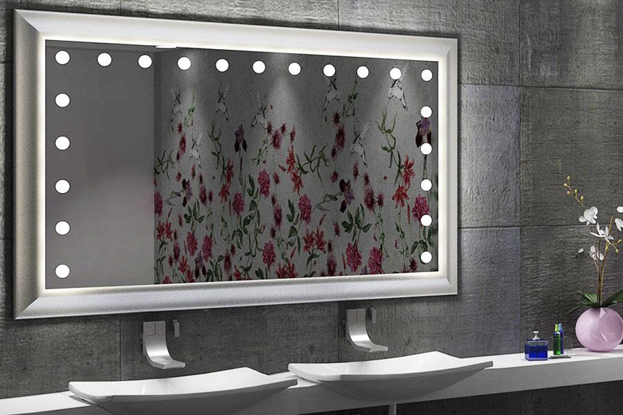 make up, beauty e luce: qual è lo specchio giusto da mettere in ... - Specchi Arredo Bagno
