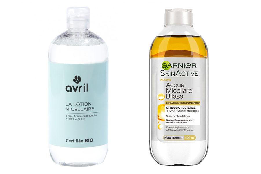 struccante-acqua-micellare-bio-avril-olio-di-argan-garnier-skinactive-commerciale