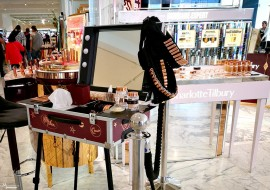 Make up corner e come allestirlo per eventi beauty e press day