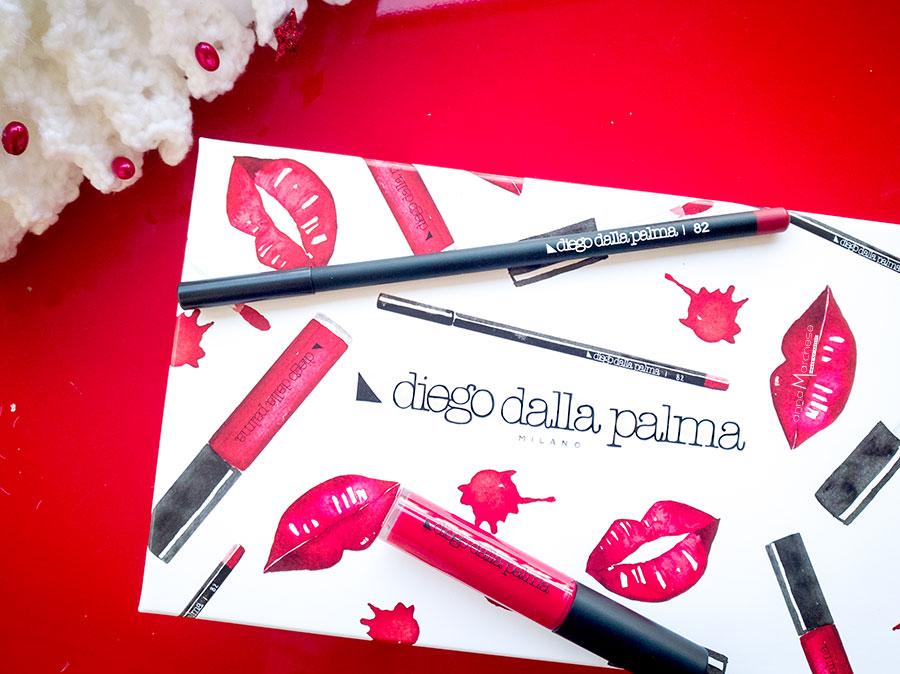 diego dalla palma make up kit labbra natale 2017 cofanetto regalo trucco rossetto liquido geisha