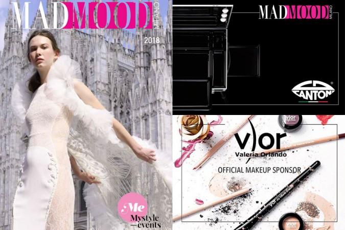 Milano Fashion Week fall winter 2018-2019: MadMood fashion show, make up e backstage
