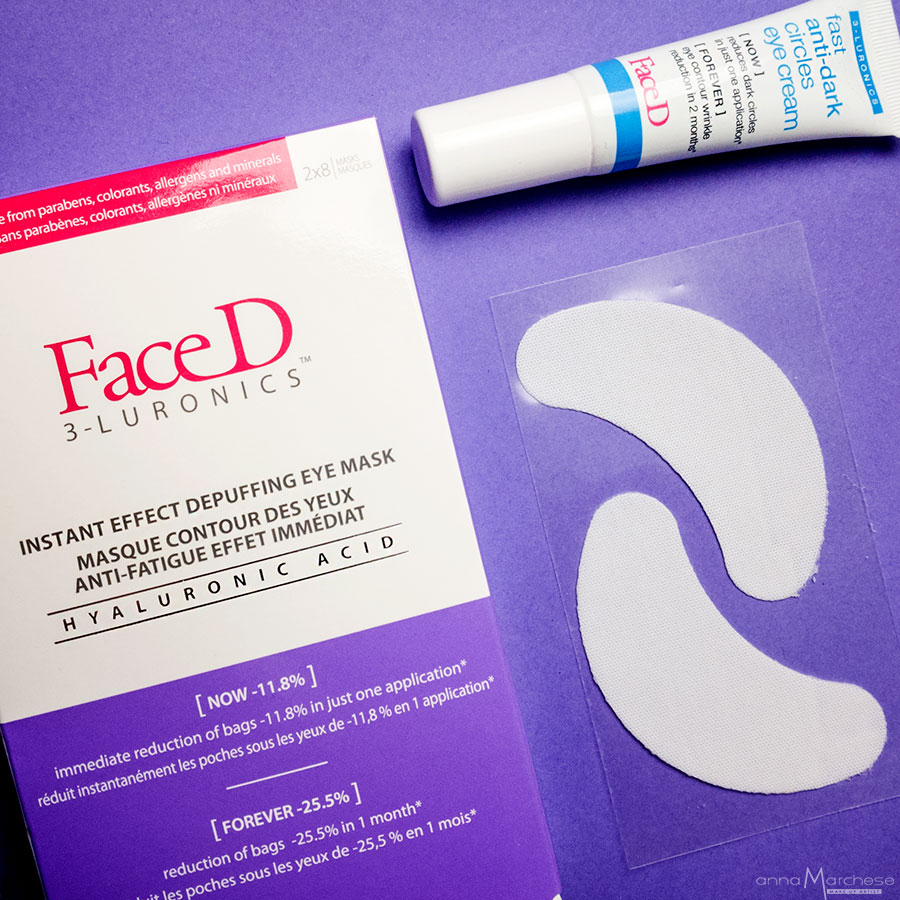 face d instant depuffing eye mask - patch borse e occhiaie FaceD Sephora - Fast anti-dark circles eye cream