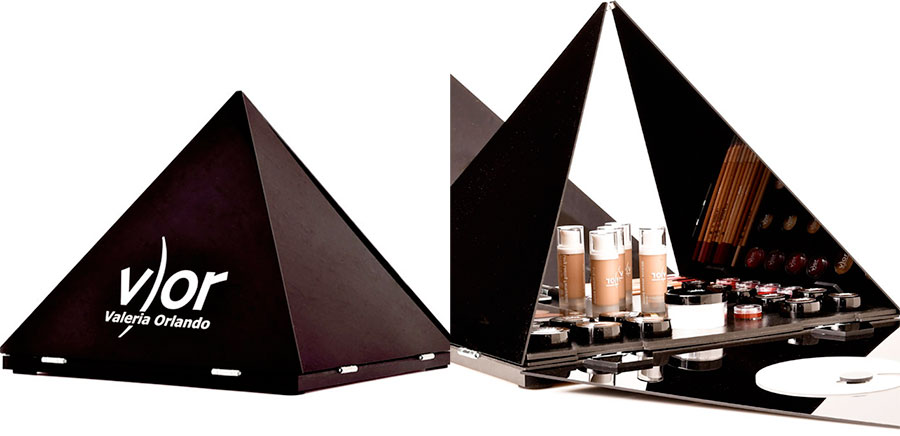 piramide vor make up per studio make up e accademie