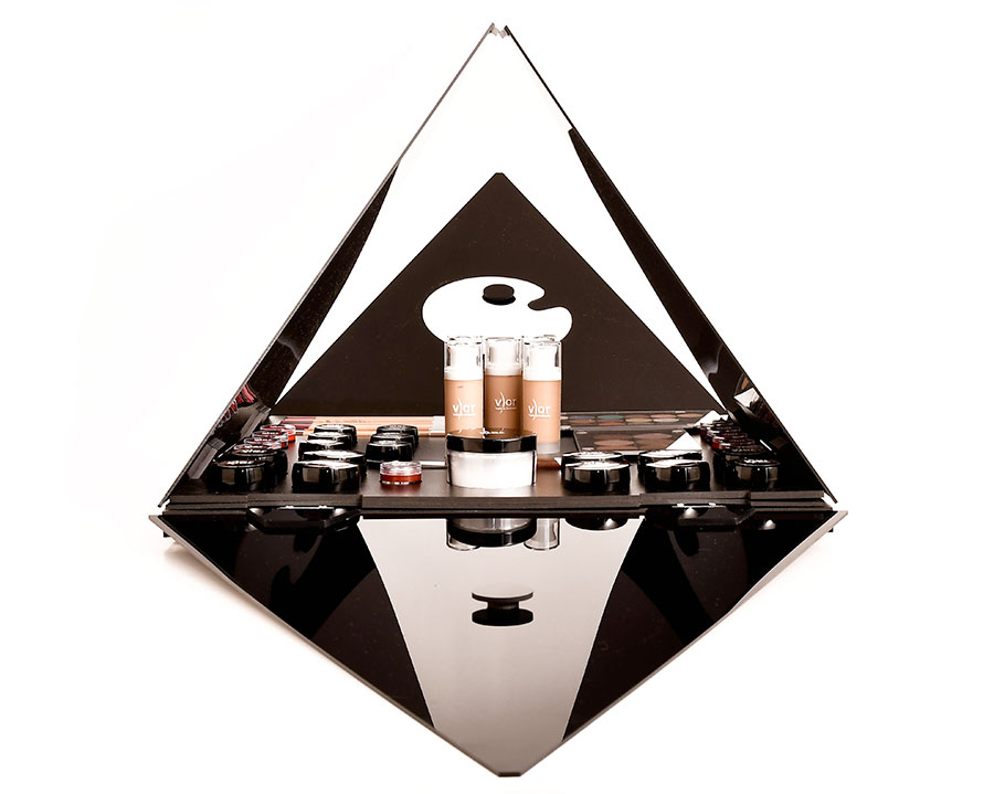 piramide vor make up per studio make up e scuole trucco