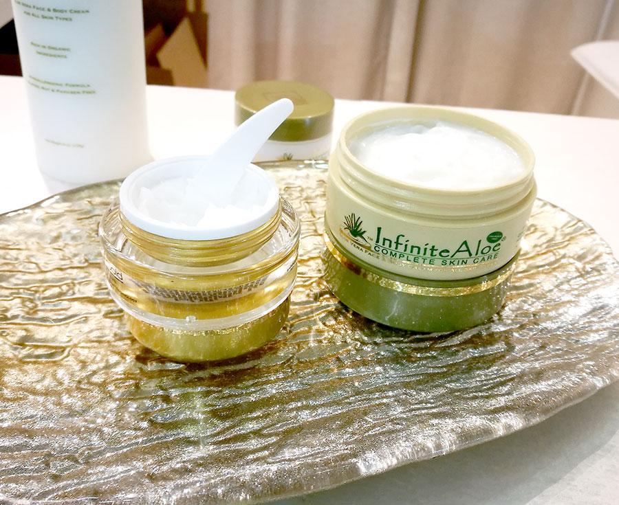 infinite-aloe-skincare-cream-face-scrub-cosmoprof-2018-2