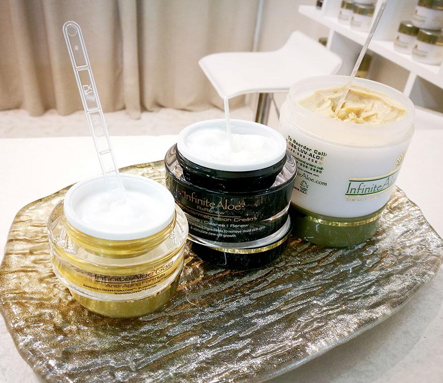 infinite-aloe-skincare-microdermabrasion-cream-face-scrub-cosmoprof-2018-2